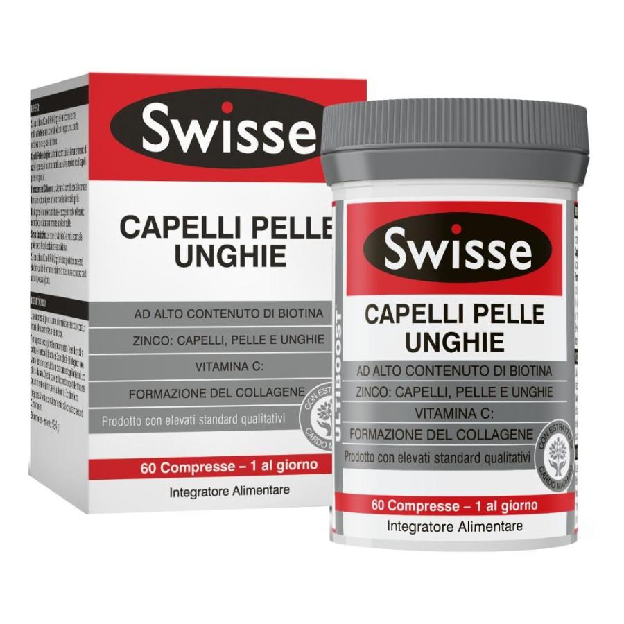 Swisse  Bellezza Capelli Pelle Unghie Integratore Alimentare 60 compresse