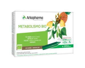 Arkofarm Arkofluidi Ultra Suoni Metabolismo Bio 20 Fiale