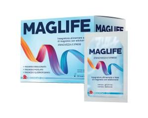Recordati Maglife Integratore Alimentare A Base Di Magnesio 30 Bustine