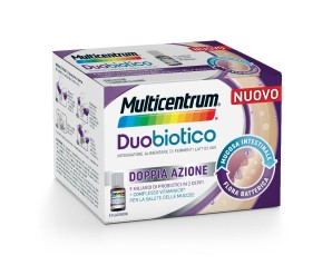 Pfizer Italia Div.consum.healt Multicentrum Duobiotico 8 Flaconcini