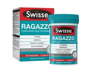 Health And Happines (h&h) It. Swisse Multivit Ragazzo 60 Compresse