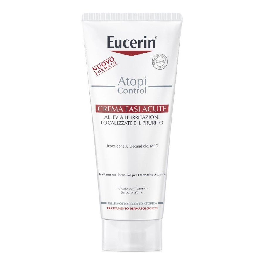 Beiersdorf Eucerin Atopic Crema Fasi Acute 100 Ml