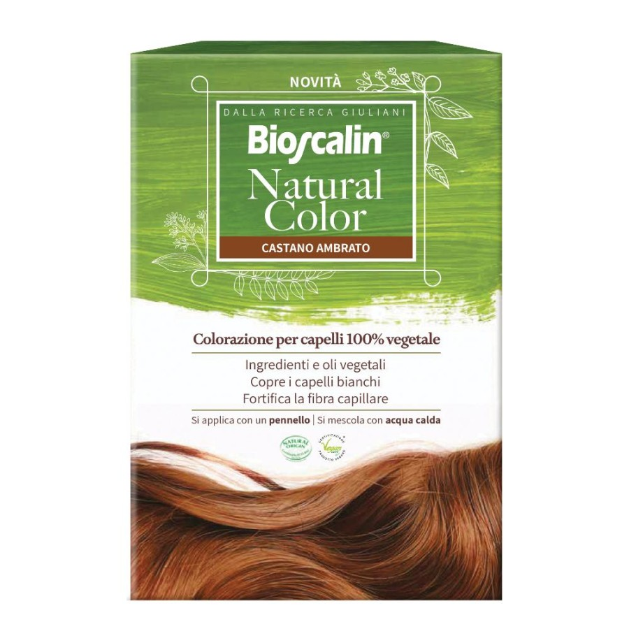 Giuliani Bioscalin Natural Color Castano Ambrato 70 G