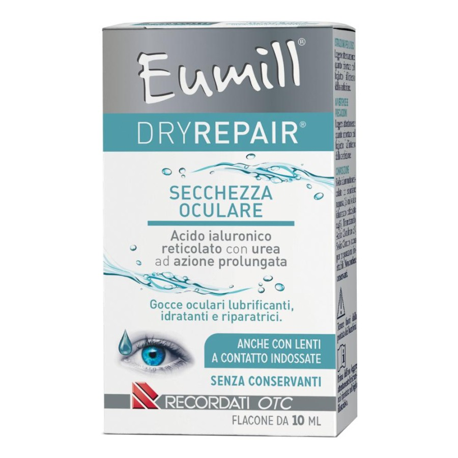 Recordati Eumill Dryrepair Gocce Oculari 10 Ml