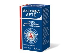 Dompe' Farmaceutici Euclorina Afte Spray 15 Ml