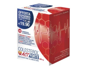 F&f Colesterol Act Forte Integratore Alimentare 60 Compresse
