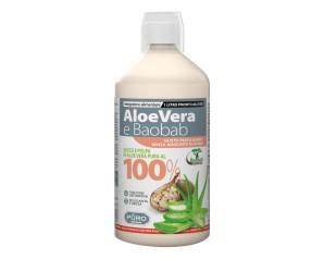 PURO AloeVera100%+Baobab Pesca