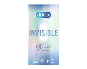 DUREX Invisibile XL 6 Prof.