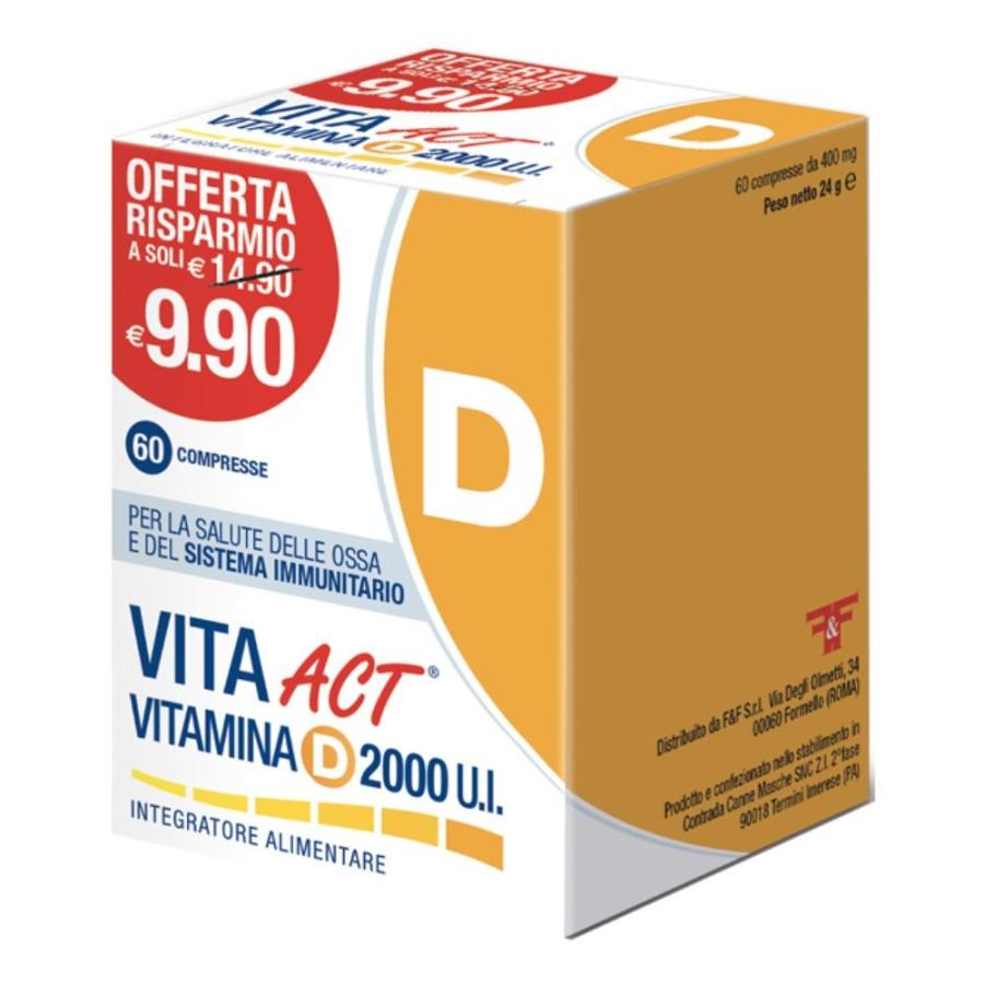 VITAMINA D ACT 2000UI 60CPR