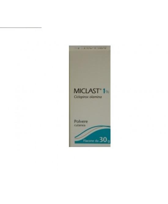 Miclast 1% Polvere Cutanea 1 Flacone Da 30 G